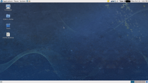My new GNOME desktop