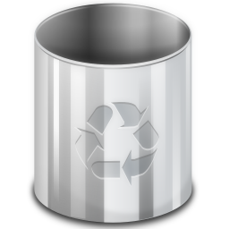 KDE Trash Can
