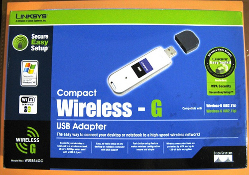 linksys compact wireless-g usb adapter windows 7 driver