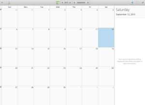Sure is a calendar