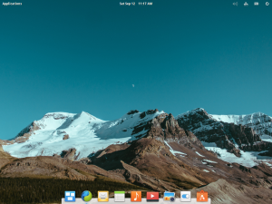 A very professional looking desktop