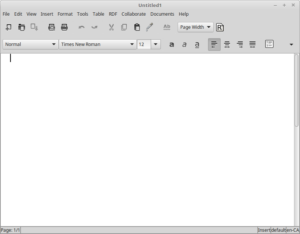 A much leaner interface than most 'bigger' word processors