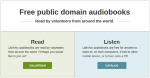 Do you have an awesome reading voice? Maybe you should contribute to the project!
